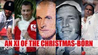 An XI of the Christmas-born