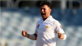 टेस्ट क्रिकेट में सबसे तेज 150 विकेट लेने वाले स्पिनर बने यासिर शाह