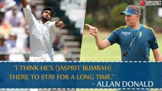 Allan Donald: Jasprit Bumrah belongs to Test cricket
