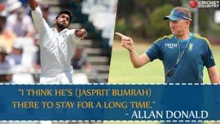 Allan Donald: Jasprit Bumrah belongs to Test cricket
