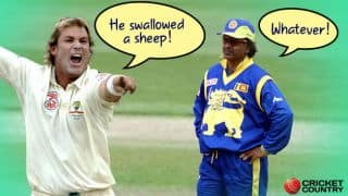 Shane Warne, Arjuna Ranatunga and who swallowed what