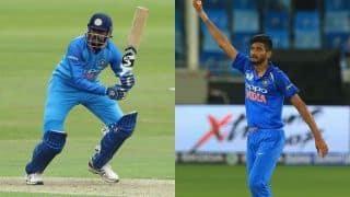 1st T20: Five debutants as India bowl against West Indies