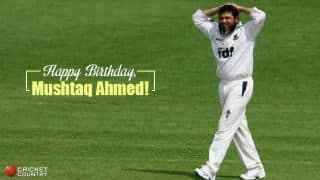 Happy Birthday, Mushtaq Ahmed, PAK spinner turns 46