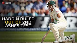 Ashes 2015: Peter Nevill set to replace Brad Haddin as Australian wicketkeeper in Lord's Test