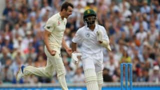 Toby Roland-Jones takes 5 on debut; England lead by 198 runs at lunch on Day 3 of 3rd Men's Test