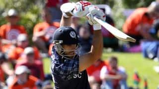 Scotland register third win in the tournament, beat NEP by 4 wickets