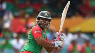 Bangladesh off to a steady start in the 1st ODI against India at Dhaka