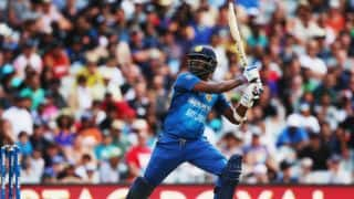 Angelo Mathews' fifty propells Sri Lanka to 142/8 vs New Zealand in 2nd T20I at Auckland