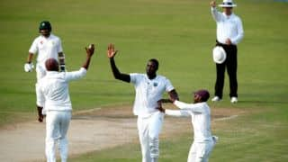 Pakistan vs West Indies, 3rd Test, Day 3: Jason Holder's 3-for keeps visitors' hopes alive