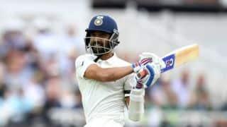 Ajinkya Rahane, Rohit Sharma, Murali Vijay in India A four-day squad