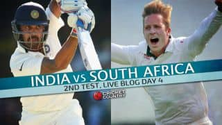 Live Cricket Score India vs South Africa 2015, 2nd Test at Bengaluru, Day 4: Play called off for third day in a row