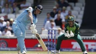 Cricket World Cup 2019: Psychologically getting over the 300-run mark really helped, says Ben Stokes as England beat South Africa
