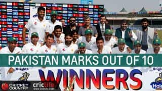 Pakistan vs West Indies in UAE: Pakistan points out of 10