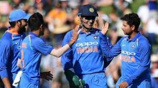 Video: How MS Dhoni orchestrated Trent Boult's dismissal from behind the stumps