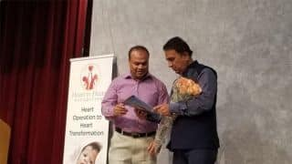 Sunil Gavaskar raises funds for over 600 child heart surgeries