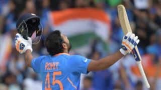 Rohit Sharma 27 runs away from breaking Sachin Tendulkar's World Cup record