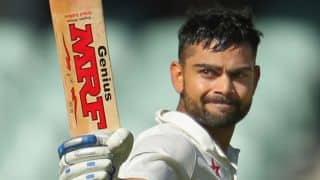 Virat Kohli slams 13th fifty during India vs West Indies, 1st Test, Day 1 at Antigua