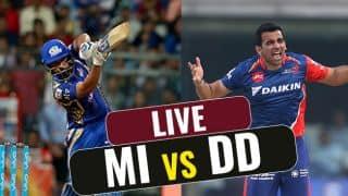 Highlights, Mumbai Indians (MI) vs Delhi Daredevils (DD), IPL 10, Match 25: DD lose