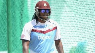 Live Cricket Score: England vs West Indies ICC World T20 2014 warm-up match at Fatullah
