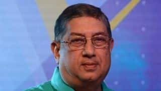 N Srinivasan calls upon BCCI state units for dinner