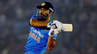 India vs New Zealand 3rd ODI: MS Dhoni dismissed for 80 by Matt Henry