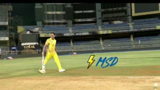 Video: Thala MS Dhoni beat Dwayne Bravo in three run dash after IPL 2018 Final