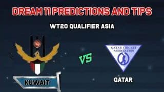 Dream11 Team Kuwait vs Qatar Match 6 WORLD T20 QUALIFIER – ASIA – Cricket Prediction Tips For Today's Match KUW vs QAT at Singapore