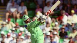 World Cup 1992: Wasim Akram, Mushtaq Ahmed, Rameez Raja end New Zealand's streak