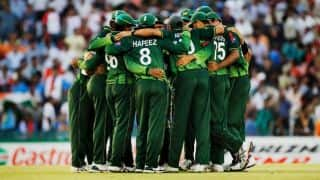 Pakistan make steady start in huge chase against Sri Lanka in 1st ODI at Hambantota