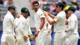 Starc scalps four to press his case for fourth Ashes Test as Australia thump Derbyshire
