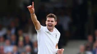 VIDEO: James Anderson chats briefly about his England career