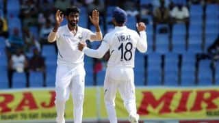 India vs West Indies: Jasprit Bumrah third-fastest Indian bowler to 50 Test wickets