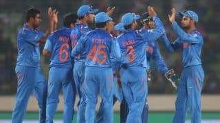 ICC World T20 2014: India warm-up to semi-final by playing football barefoot
