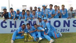 India vs Scotland ICC Under-19 World Cup: Live Scorecard