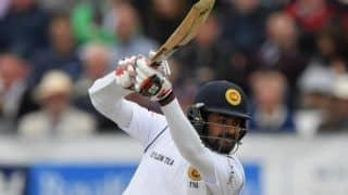 श्रीलंका टेस्ट टीम में लाहिरु तिरिमने की वापसी, मैथ्यूज चोट के चलते बाहर