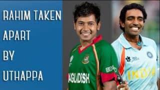India vs Bangladesh Facebook conversations: Mushfiqur Rahim taken apart by Robin Uthappa