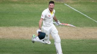 Marsh's hundred shoots up Australia to 409-7 before dinner