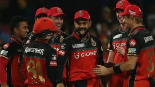 IPL 2017: Fifties from Gayle and Kohli, spinners guide RCB to 21-run win over GL