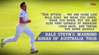 Dale Steyn: South Africa will hunt Australia like 'wild dogs'