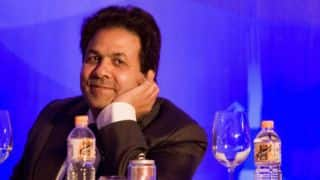 Rajeev Shukla: No decision taken on India-Pakistan series