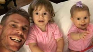 More in store: David Warner, wife Candice aim to have more kids