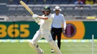 ब्रिसबेन टेस्ट: श्रीलंका 144 रन पर ढेर, पहले दिन ऑस्ट्रेलिया 72/2