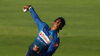 Sri Lankan leg-spinner Jeffrey Vandersay suspended from international cricket for one year