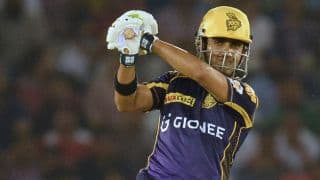 Gautam Gambhir makes record 30th 50 in MI vs KKR, IPL 2016 Match 24