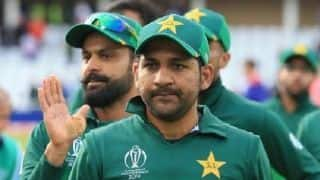 Cricket World Cup 2019: Sarfaraz Ahmed credits batsmen as Pakistan beat England