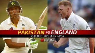 Eng 130/3 in 54 Overs I Live Cricket Score Pakistan vs England 2015, 2nd Test at Dubai, Day 4: Stumps