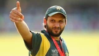 Shahid Afridi agrees with Sanjay Manjrekar's suggestion