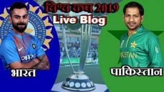 DLS नियम से भारत ने पाक पर 89 रन से दर्ज की जीत