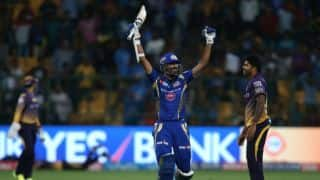 MI enter IPL 2017 final; Karn Sharma scripts easy 6-wicket win over KKR in Qualifier 2