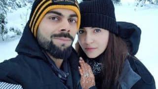 Photo: Virat Kohli, Anuskha Sharma share honeymoon photo